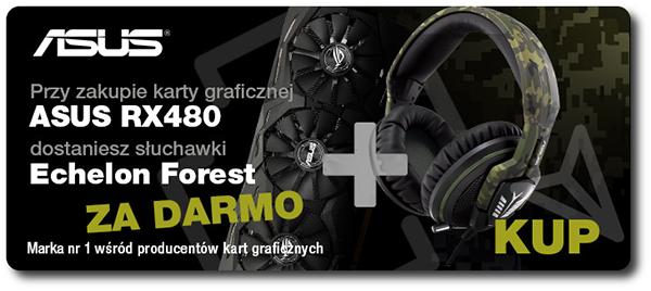 Kup Asus RX 480 - słuchawki gratis !
