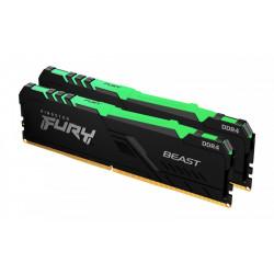 Kingston Dual 16GB (2x8GB) 3200MHz HyperX Fury RGB DDR4 CL16