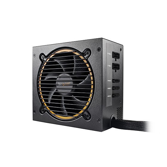 Be Quiet! 600W Pure Power 10 CM 120mm 80+ Silver Modularny