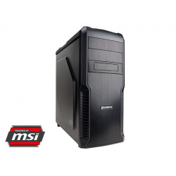 Mocarz Core i5-7600K, GTX1060, 275GB SSD, 1TB , 16GB DDR4 OC Powered by MSI