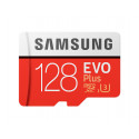 Samsung 128GB EVO Plus MicroSDHC odczyt 100MB/s zapis 90MB/s + adapter - Nowy model