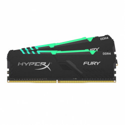 Kingston Dual 32GB (2x16GB) 3200MHz HyperX Fury RGB DDR4 CL16
