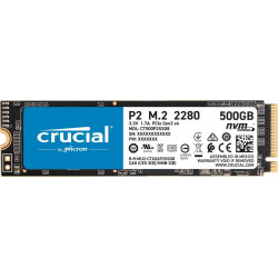 Crucial 500GB P2 SSD NVMe PCIe 2300/940MB/s