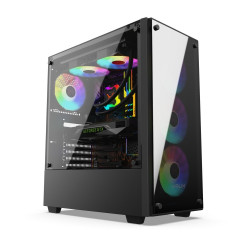 Ultra Power Ryzen 5600X, GTX1660 Ti , 512GB SSD, 2TB , 16GB DDR4 OC - LEDY ARGB